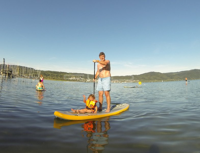 SUP Stand up paddling Bodensee  Familienfahrt