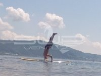 Yoga SUP Stand up paddling Bodensee